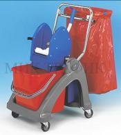 Хигиенна количка с преса и чувал 21006pp