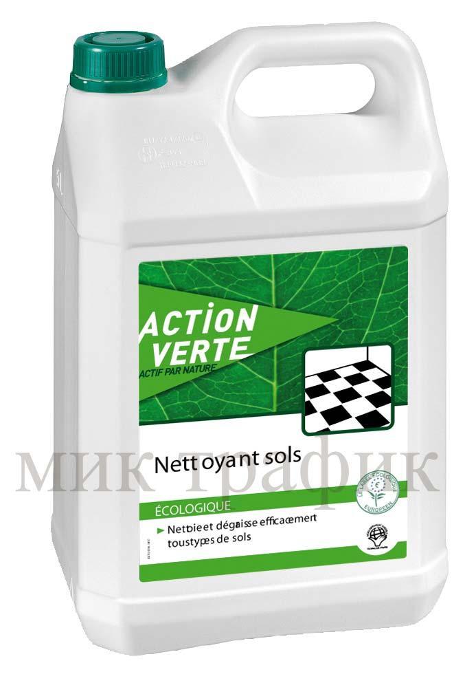 Екологичен препарат за почистване и поддържане на твърди подови настилки