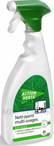 Екологичен препарат за почистване на твърди повърхности