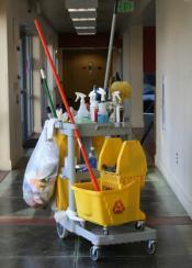 Професионални колички за почистване